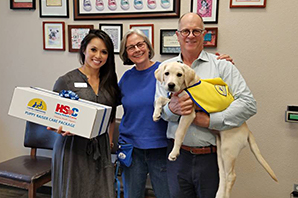 Covetrus delivers 2,000th puppy care package