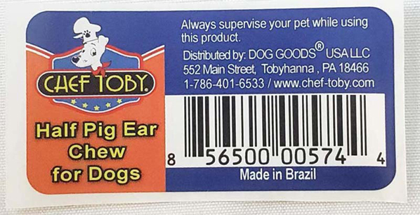 Third company issues pig ear recall over Salmonella