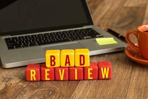 When bad reviews happen to good veterinarians