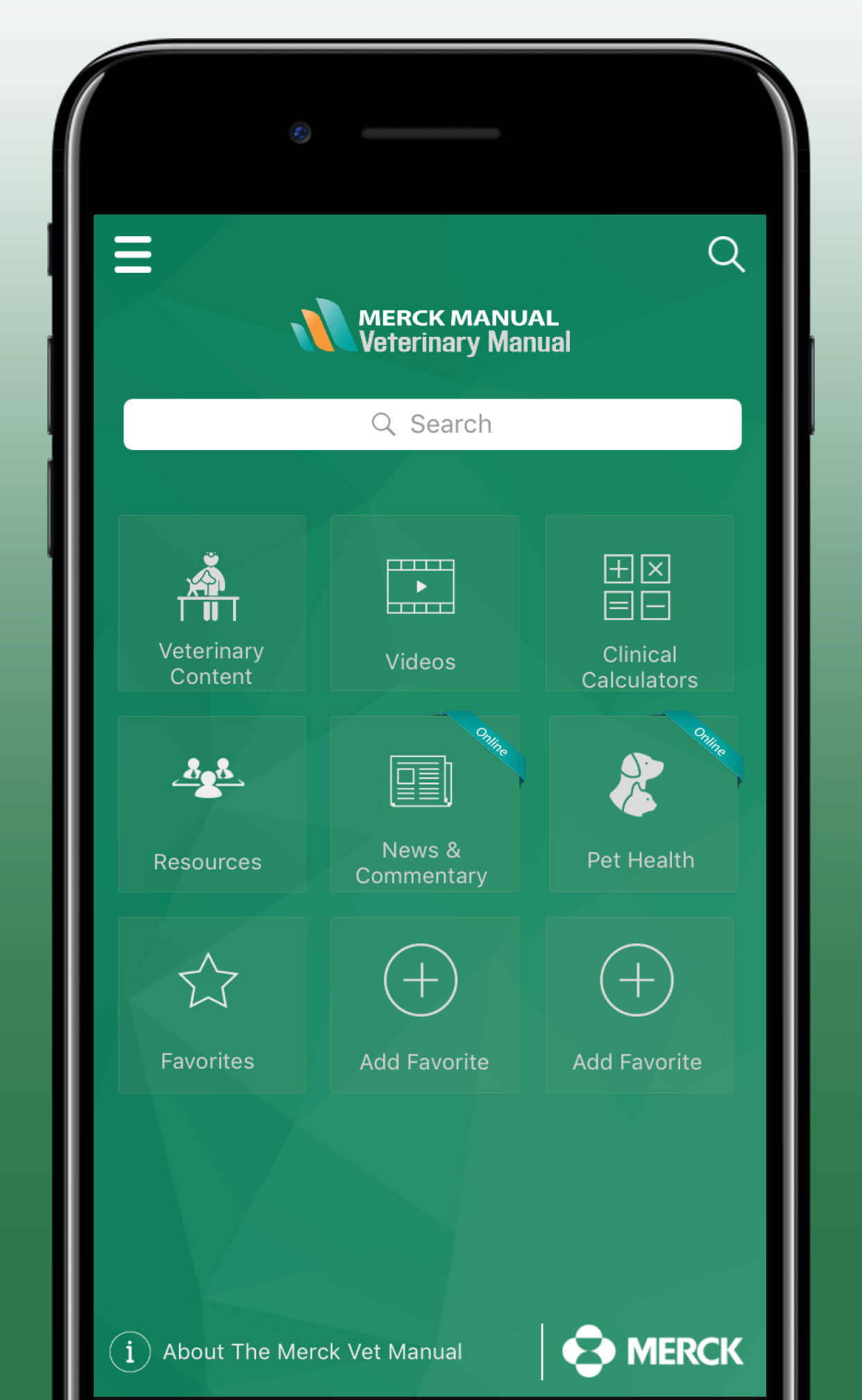 Merck Vet Manual App