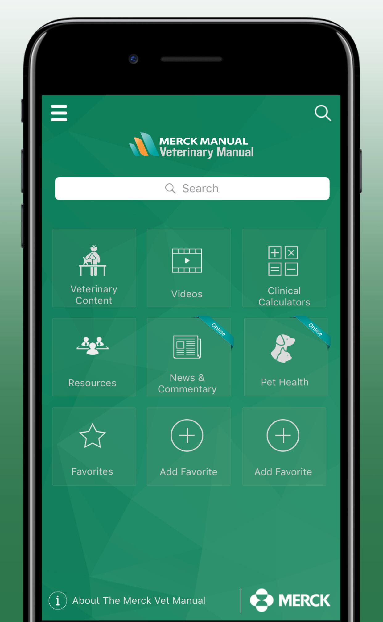 Merck Vet Manual App