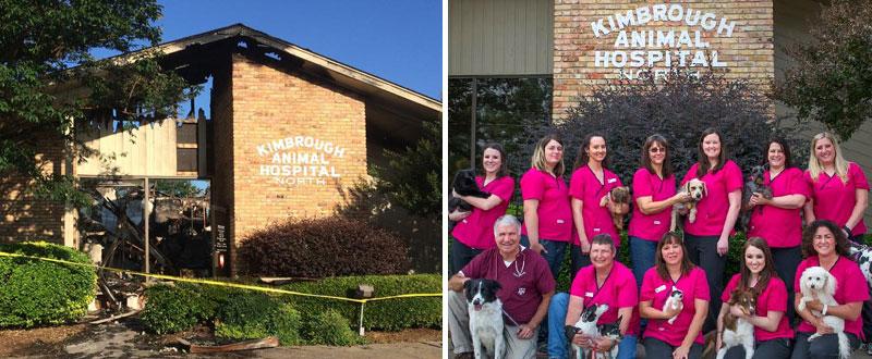 Fire At Texas Vet Clinic Kills 38 Pets