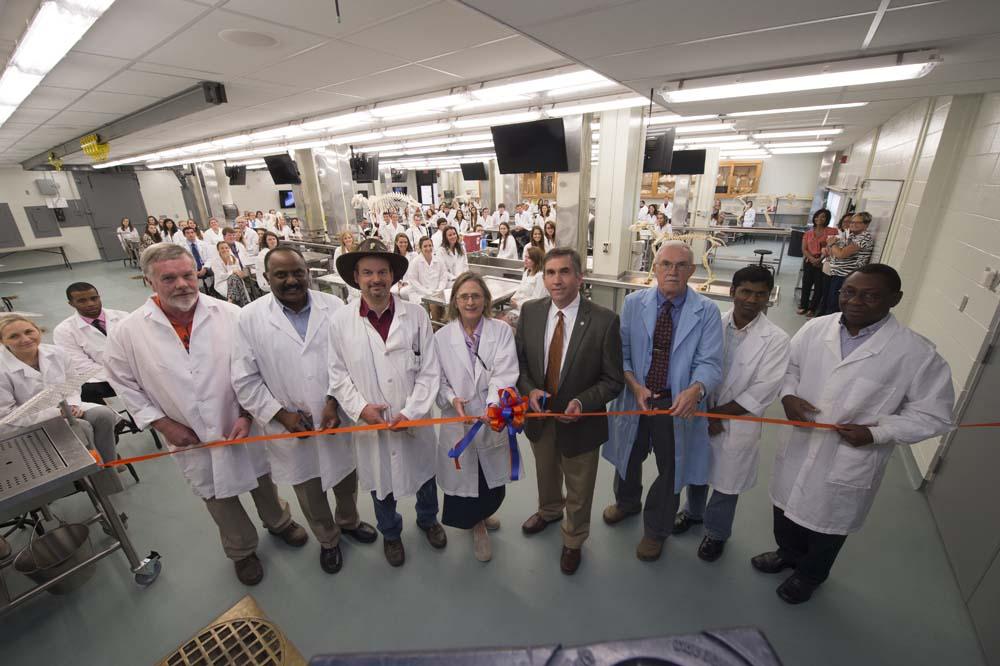 Auburn Universitys Anatomy Lab Undergoes 1 Million Renovation