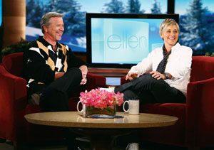 Ellen deGeneres & Ernie