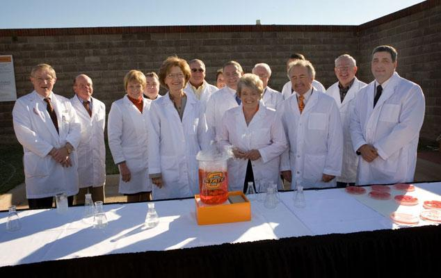 Oklahoma Animal Disease Diagnostic Laboratory hosted a non-traditional ceremony to celebrate an expansion project.
