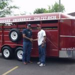 Tuskegee provides mobile veterinary services in outlying communities.