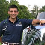 Dr. Michael Porter is director of the Mobile Equine Diagnostic Service, popularly known as MEDS.