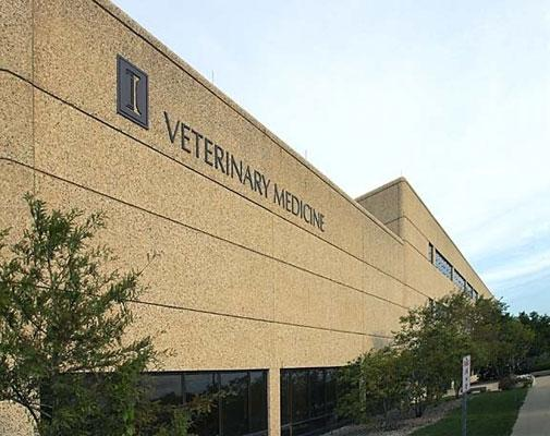 The College of Veterinary Medicine at the University of Illinois at Urbana-Champaign.