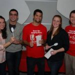 Penn Vet students are active in SCAVMA, the student chapter of the AVMA. Here, winners pose for a picture at the organization's 2010 Chili Cook-off, a fundraiser that benefited Haitians after a devastating earthquake.
