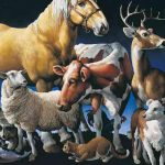 Atlantic Veterinary College's much-loved iconic artwork,