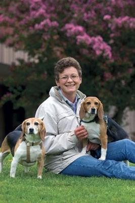 Norma Guy, DVM, MSC, is Atlantic Veterinary College's animal behaviorist and recipient of the 2008 Canadian Veterinary Medical Assn. Humane Award.