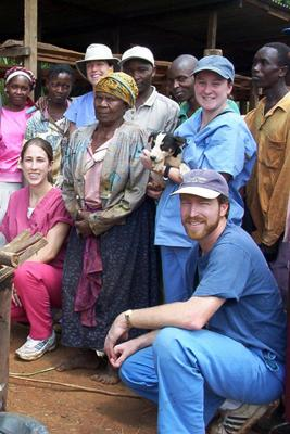John VanLeeuwen, DVM, Ph.D., leads Atlantic Veterinary College's fourth-year external rotations in Kenya. The educational experience aims to assist dairy farmers and communities.