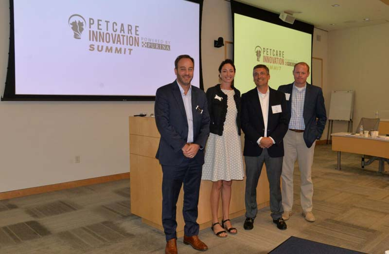 Anna Skaya, CEO and founder of Basepaws, is joined by David Narkiewicz, Bill Broun, and Blair Morgan of Purina.