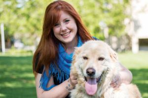 Erin Wasson, Western College of Veterinary Medicine's (WCVM's) veterinary social worker. Photo ©Caitlin Taylor, WCVM