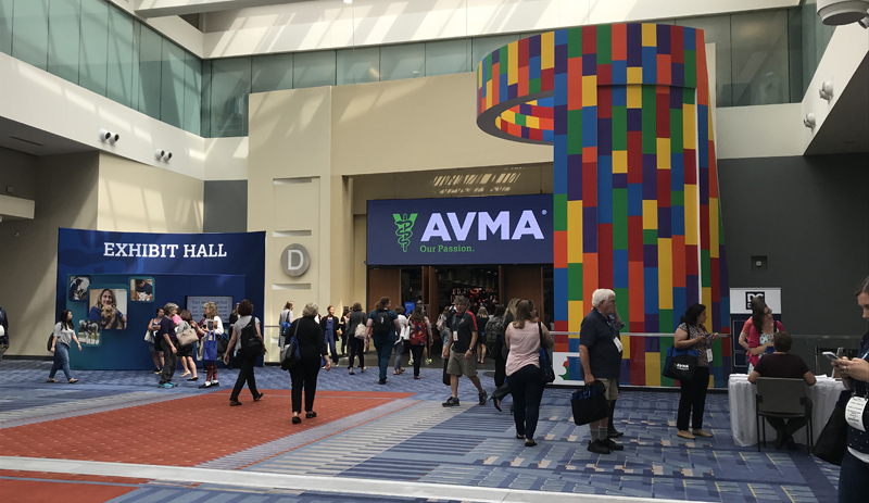 The American Veterinary Medical Association's (AVMA's) annual convention will be a virtual event for the second year in a row due to COVID-related concerns and restrictions. Photo by Jacquie De Almeida