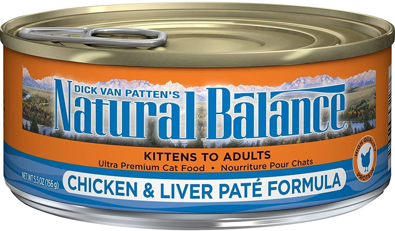 One lot of J.M. Smuckers' Natural Balance Ultra Premium Chicken & Liver Paté Formula canned cat food has been recalled.