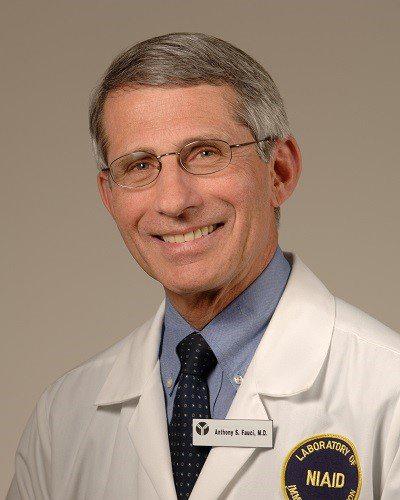 Anthony Fauci, MD. Photo courtesy NIAID