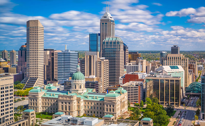 Elanco Animal Health, Inc., has selected a downtown Indianapolis location for its new global headquarters. Photo ©BigStockPhoto.com