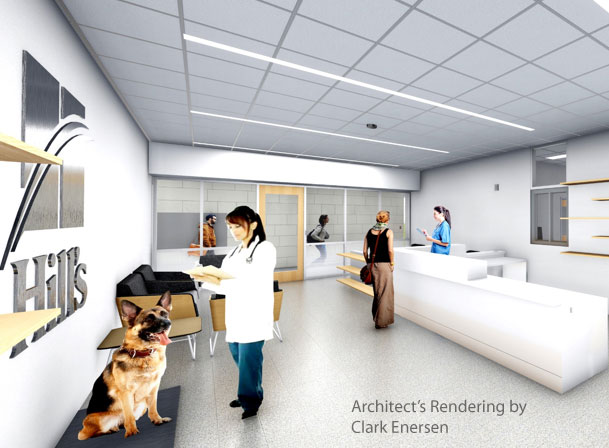 Improving the health of animals by eliminating pet obesity is the primary focus of a significant renovation at the Kansas State University (K-State) College of Veterinary Medicine teaching hospital.