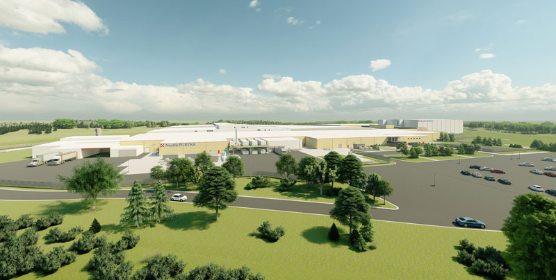 Nestle Purina PetCare is set to invest $550 million to expand its pet food factory in Hartwell, Georgia.