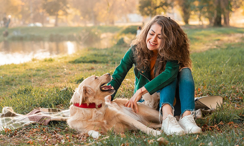 A new study out of University of South Australia suggests that, in the absence of human-to-human contact amidst the pandemic, pets have become increasingly important to people in terms of comfort and physical presence. Photo ©BigStockPhoto.com