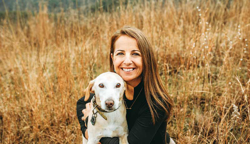 A diagnosis of CHF in a dog requires commitment to a daily medication regimen and changes to the patient's diet, which can be difficult to adjust to. The author, seen here with her dog, experienced first-hand some of the challenges pet owners face when CHF is diagnosed.