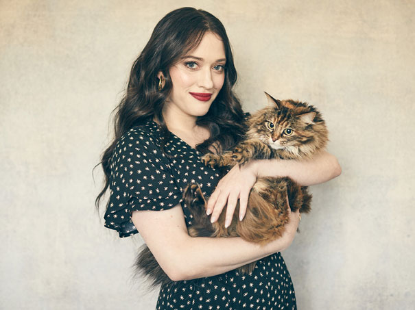 Kat Dennings joined Royal Canin's Take Your Cat to the Vet campaign to remind cat owners about the importance of regular clinical visits. Photo courtesy Royal Canin