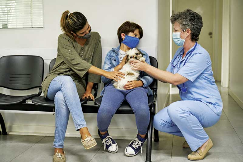 There is a lot to manage at a veterinary clinic on a daily basis. Clients, veterinarians, and staff all have their own needs—and those are just the humans. Scheduling appointments to maximize time can have a big impact on workflow. PHOTO COURTESY FXAVIERARNAU/ E+ / GETTY IMAGES PLUS